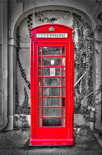 Red Phone Booth by Photomatt28