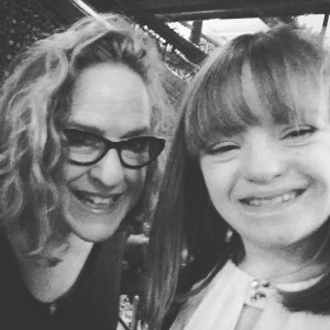 Amy Silverman with her daughter Sophie