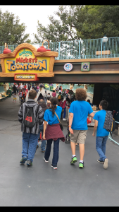 Strolling into ToonTown